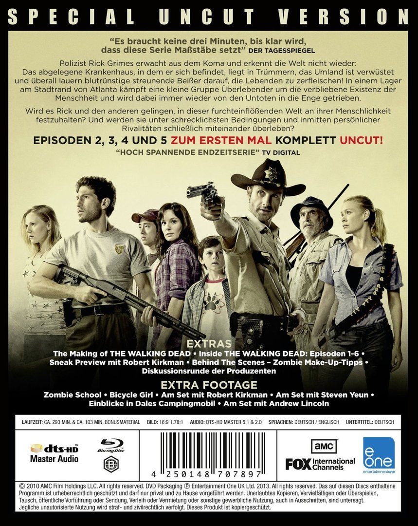 The Walking Dead 1 Staffel Stream