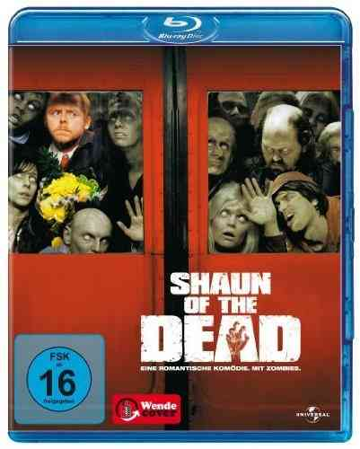 Shaun of the Dead Blue Ray