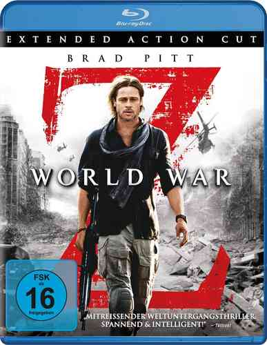 World War Z BlueRay